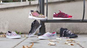 zwierzece motywy na butach