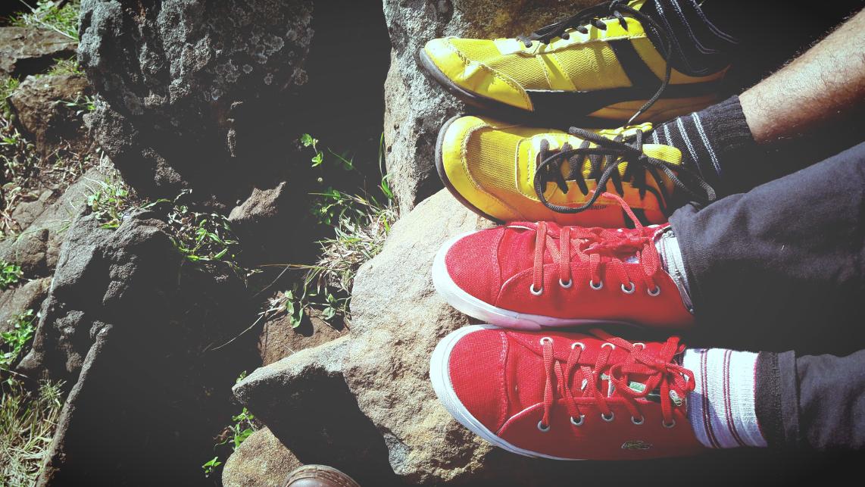 Kolorowe buty hot or not? Sfera butów