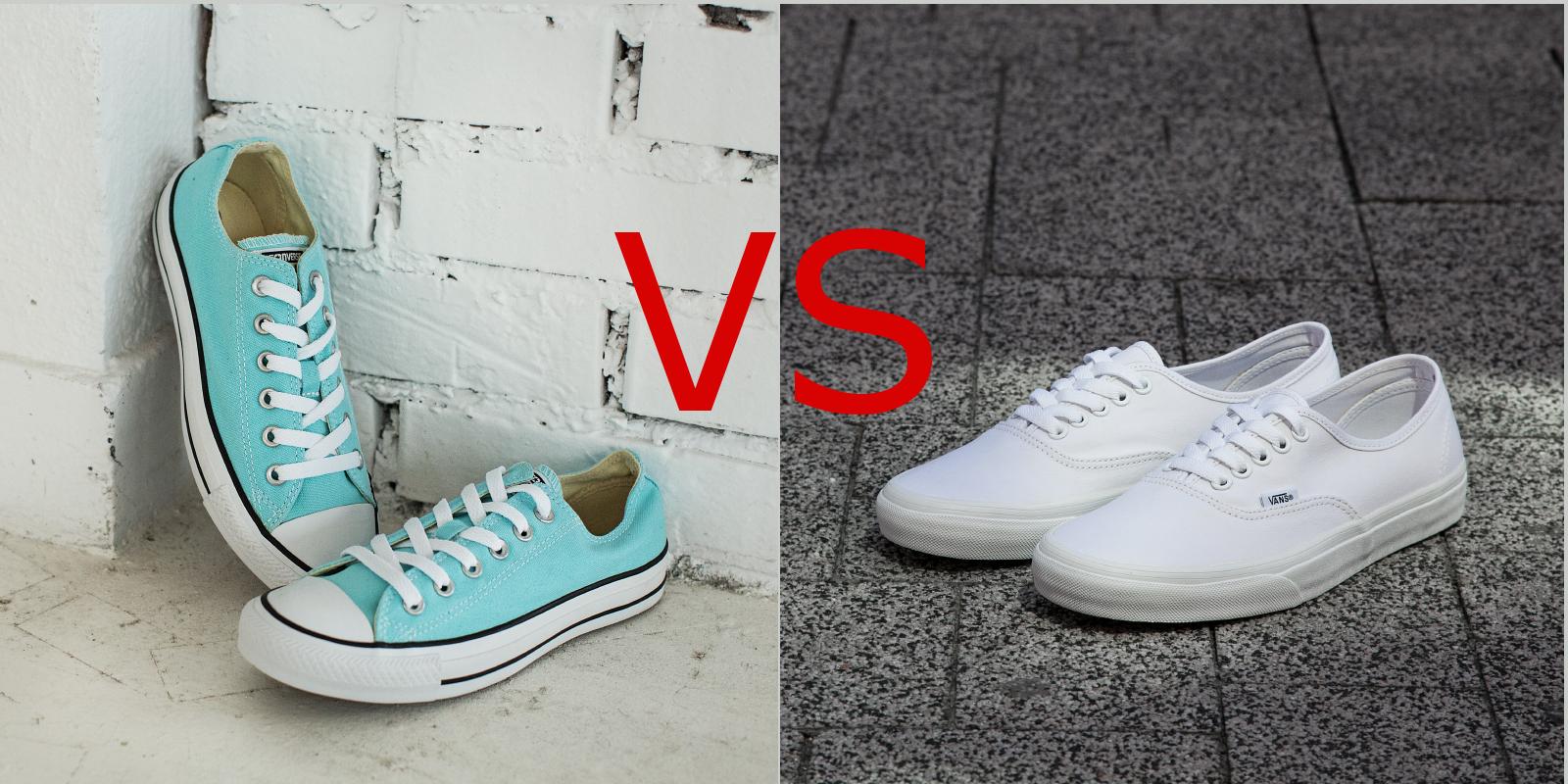 Wybieramy trampki Converse czy Vans Sfera butów